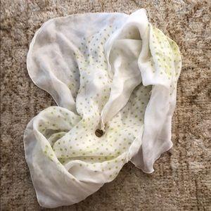 DIESEL silk scarf.